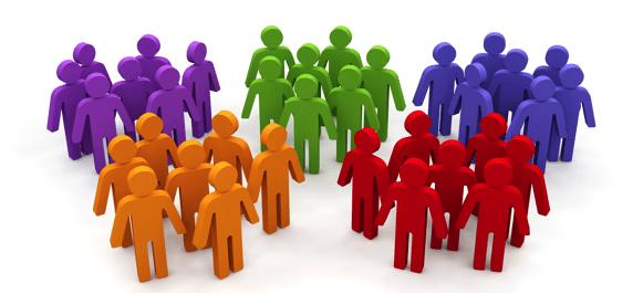 Color Segmenting for marketing